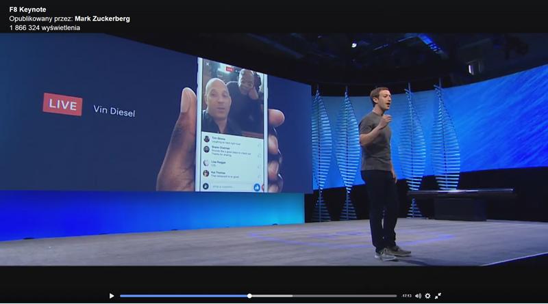 Zuckerberg zaprezentował plany Facebooka na najbliższe 10 lat